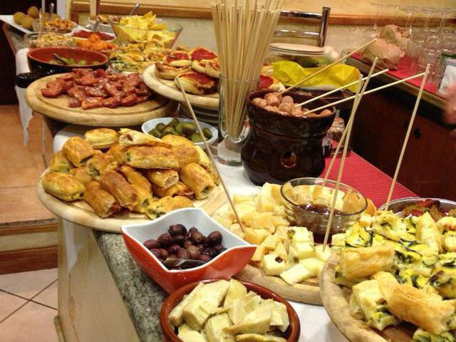 Cafe Milano Catering Menu