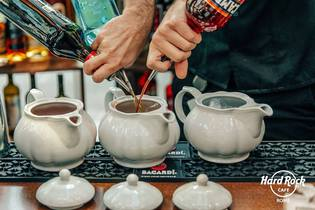 Aperitivo all'Hard Rock Cafe
